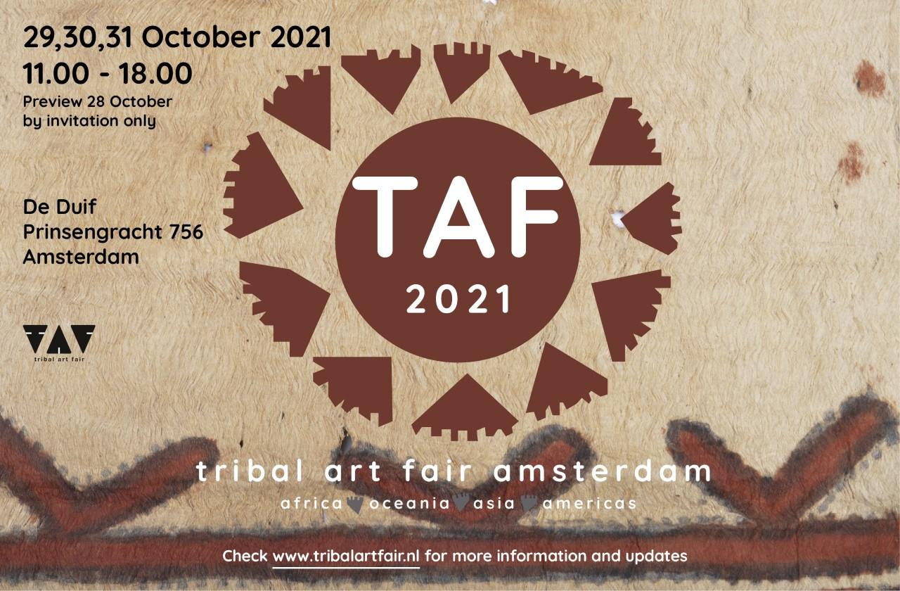 TRIBAL ART FAIR AMSTERDAM 2021