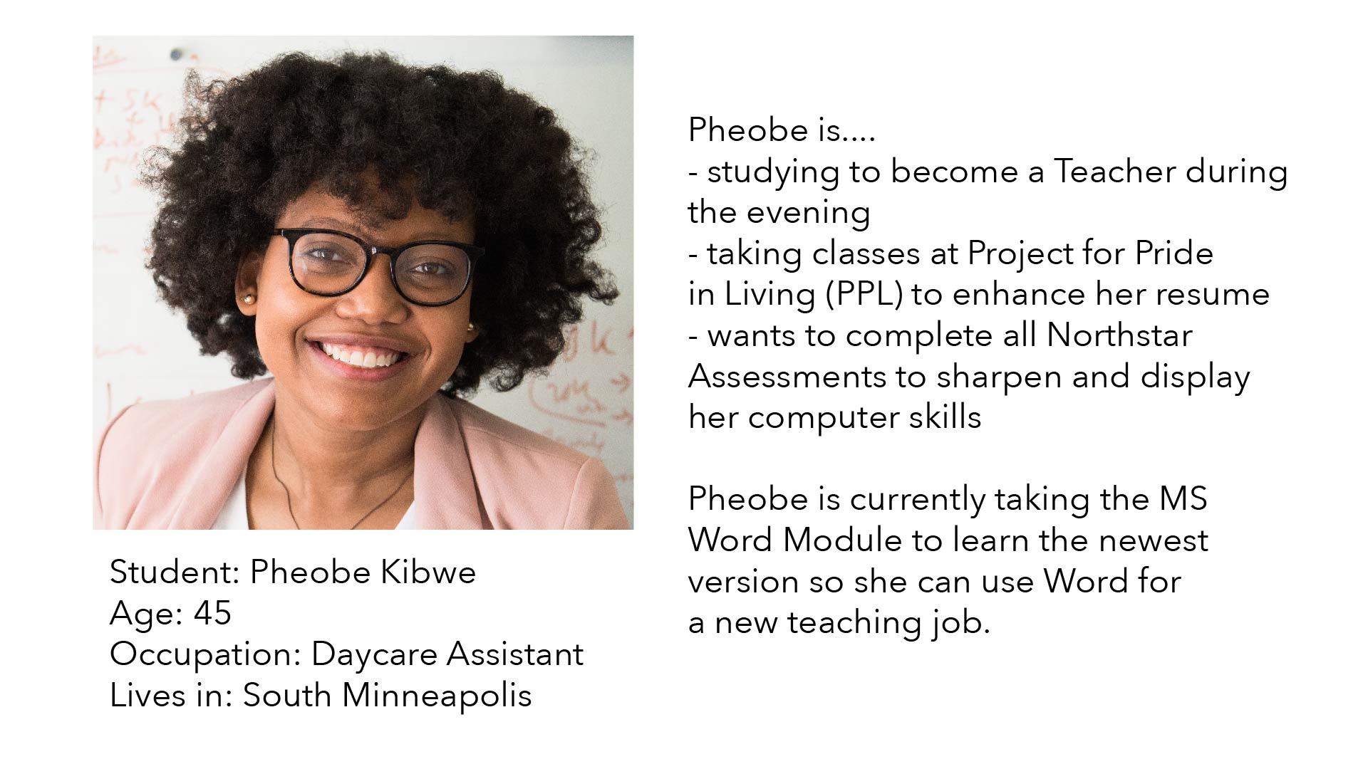 Phoebe Persona
