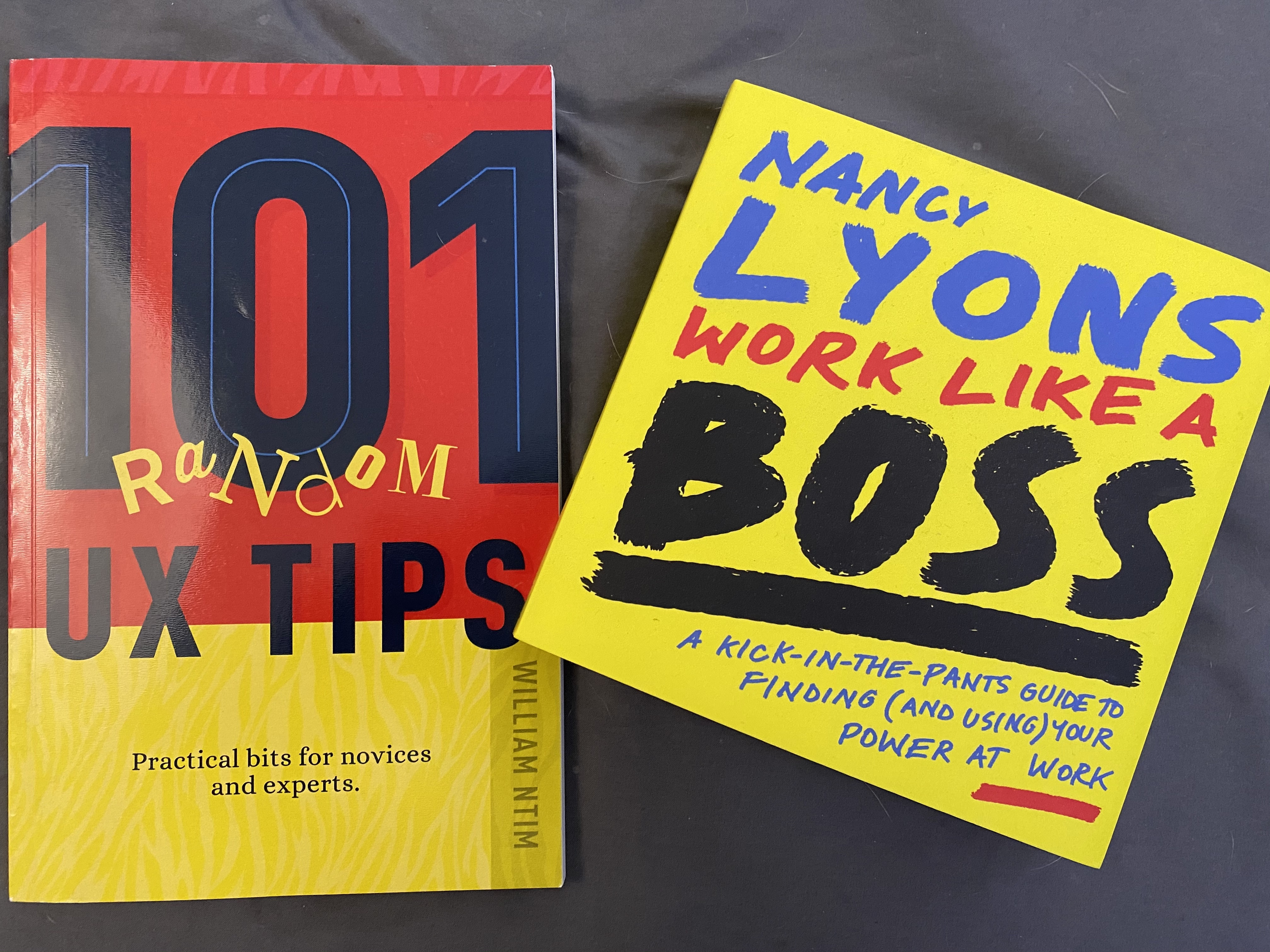 Books Being Read By Me - A Look Into My UX Library
