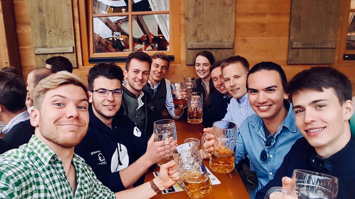 START Munich at Oktoberfest