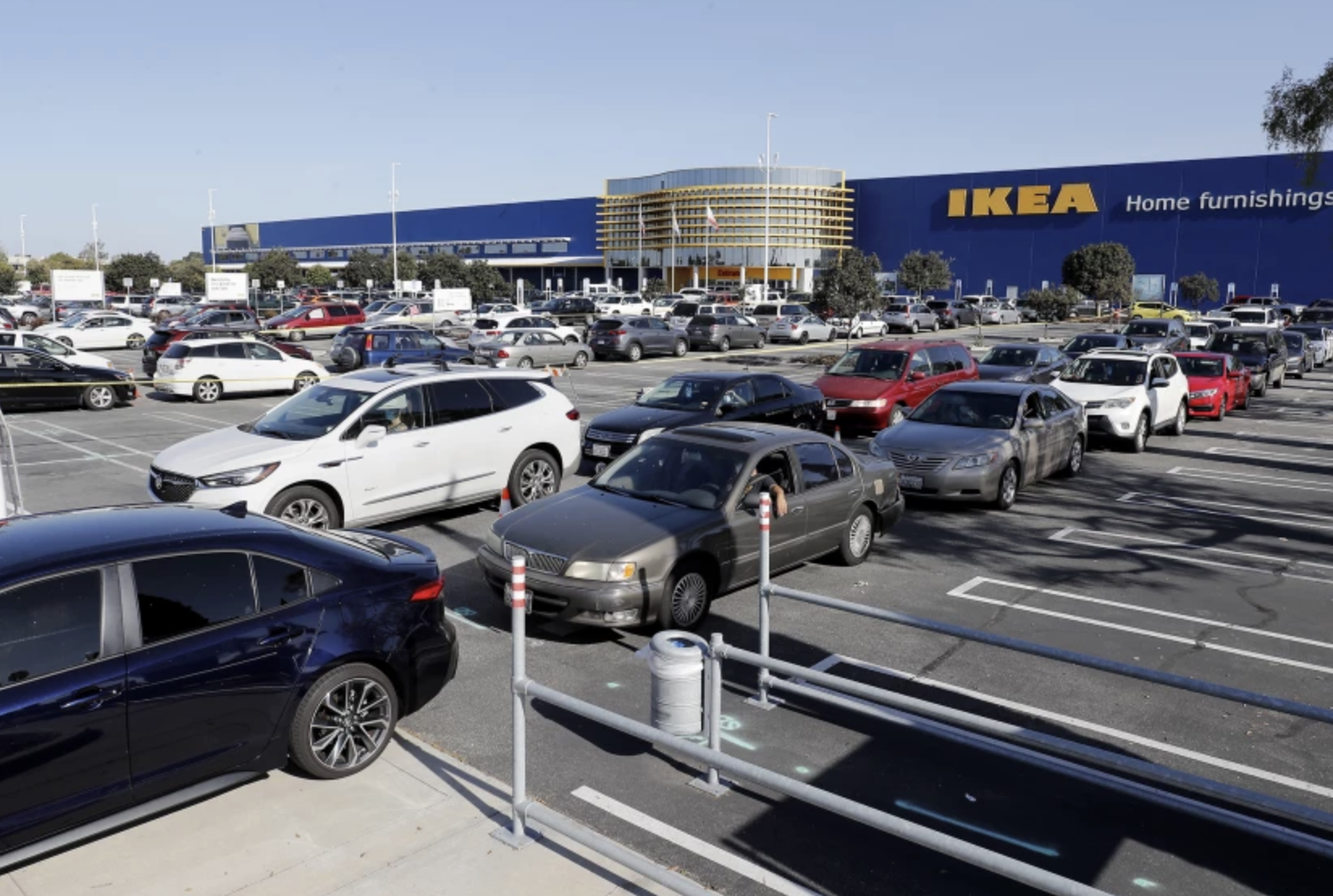 A new permanent bridge shelter in Costa Mesa, furnished by IKEA, will open to clients in March