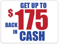 cash back with windshield replacement
