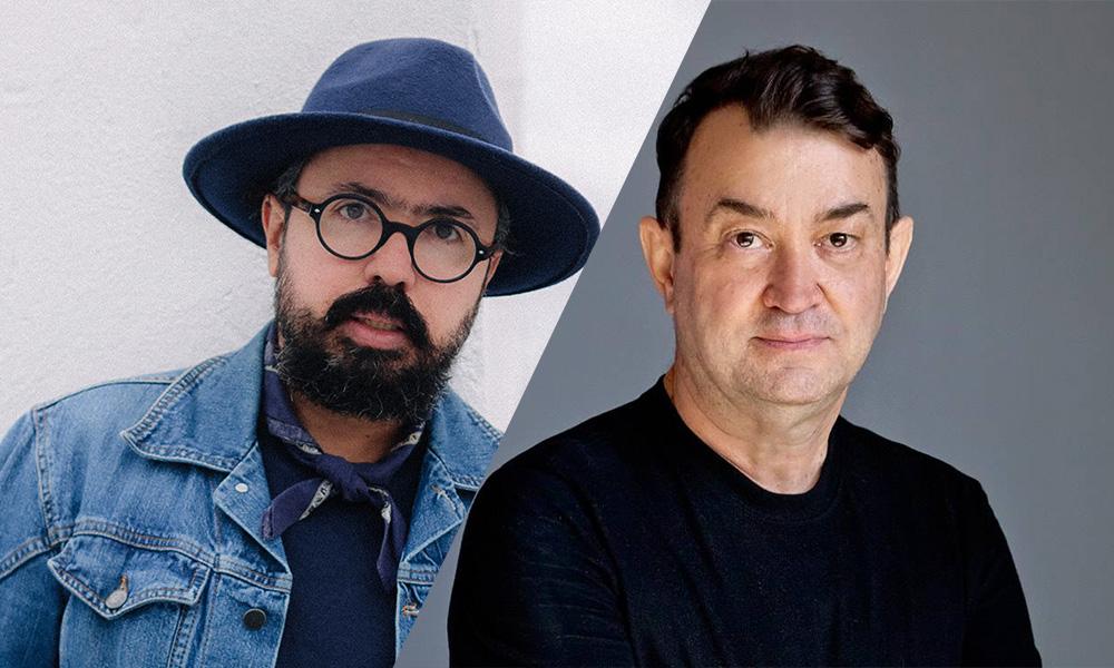 Jackson Araujo y Walter Rodrigues