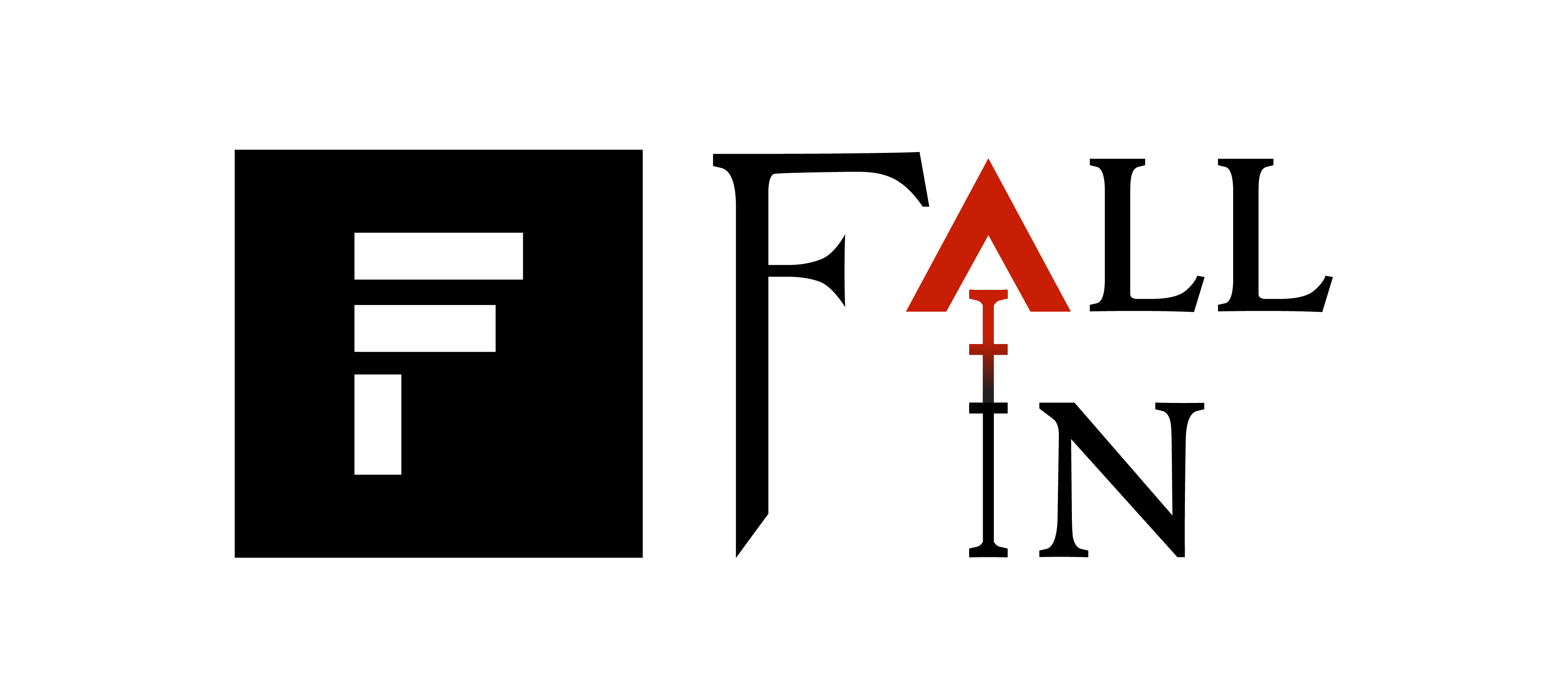 Fall in logo
