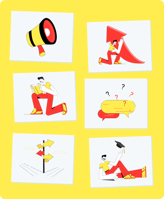 illustration student experience steps studentpulse