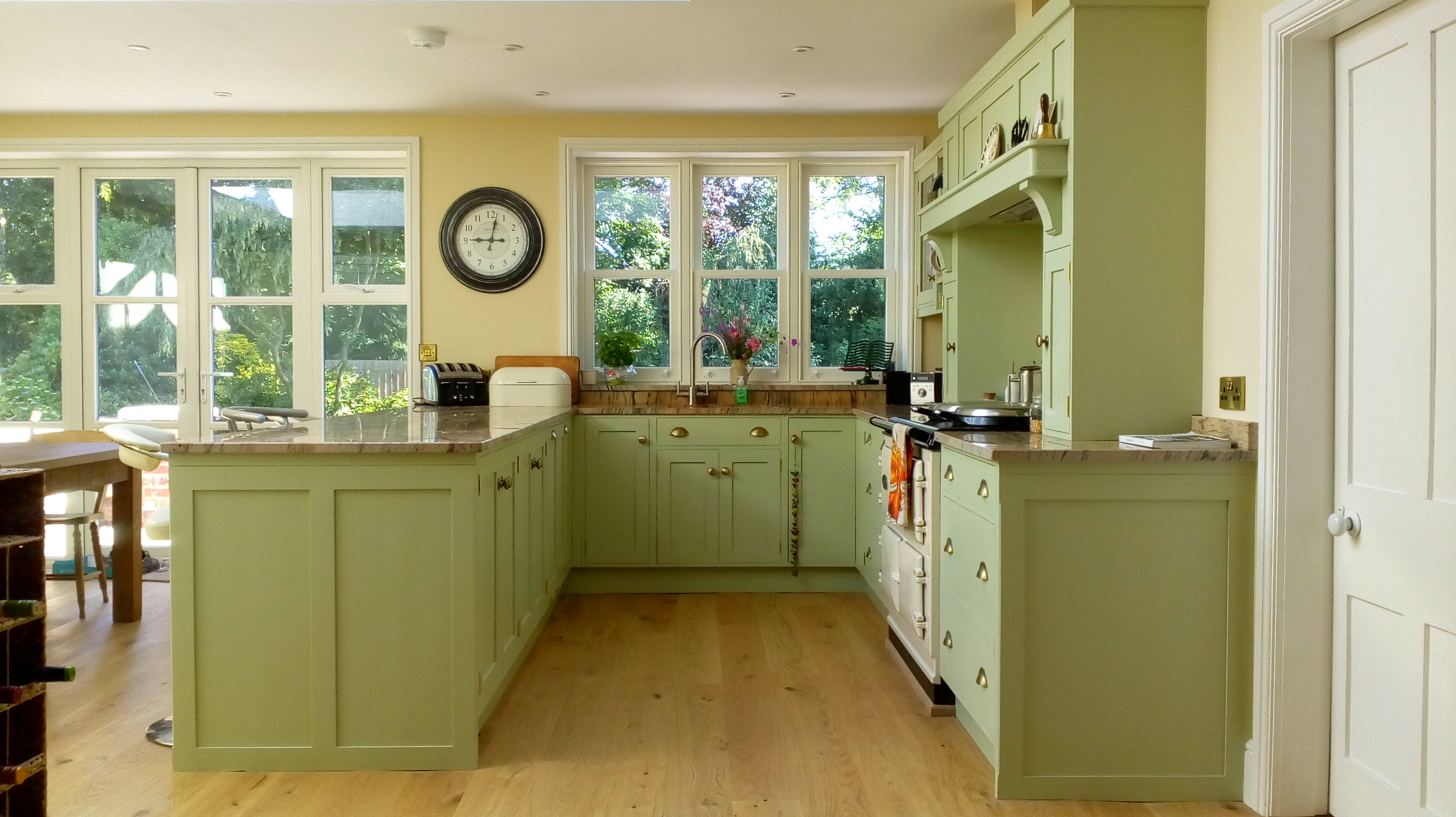 Classic kitchen installation by Dan Nickson Joinery.
