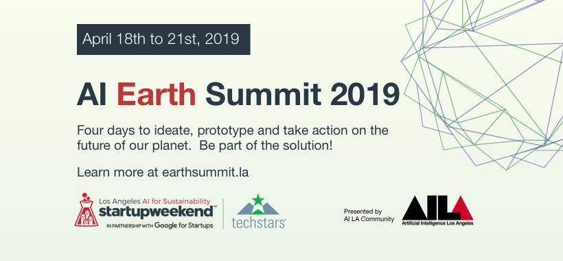 AI Earth Summit 2019 banner graphic