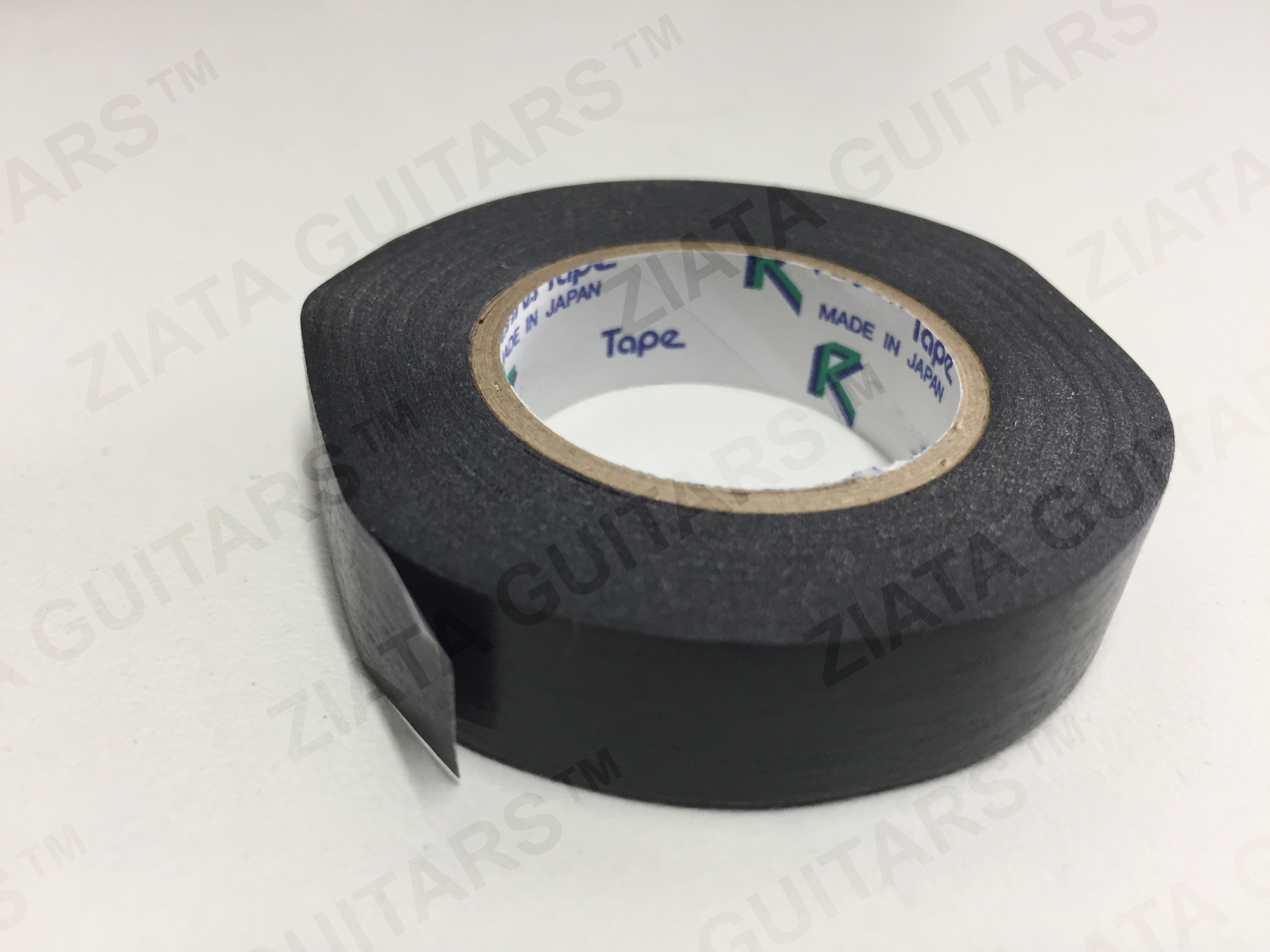 12mm Guitar Pickup Paper Tape - Black