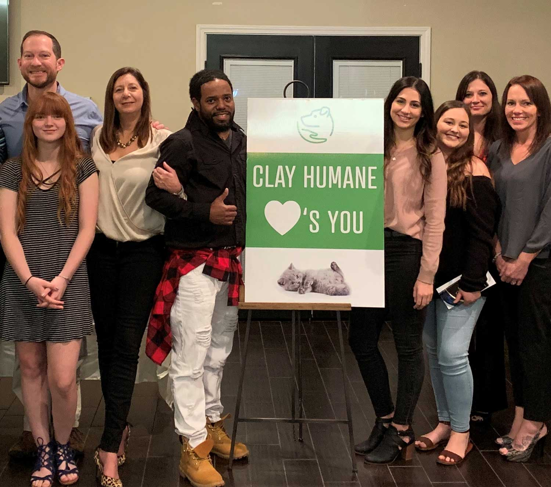 Clay Humane group photo