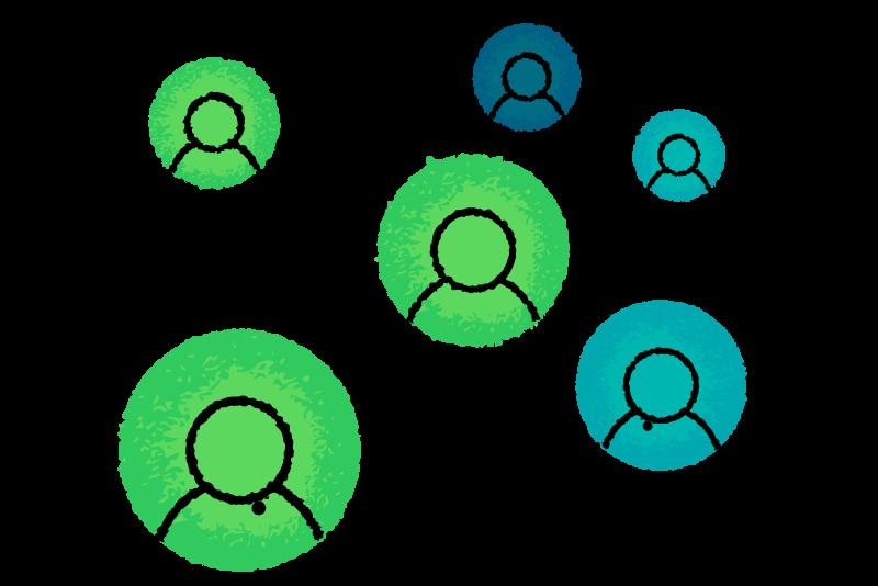 An illustration of a (partner) network.