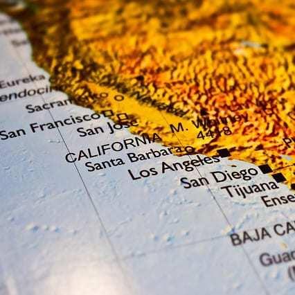 CCPA: California Map