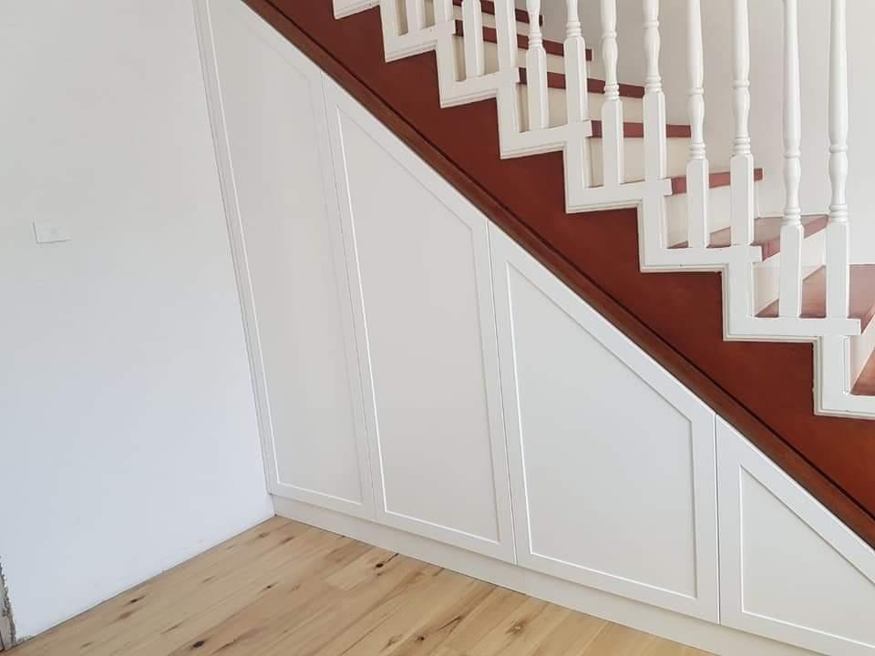 Under stair storage - Custom Cabinetry