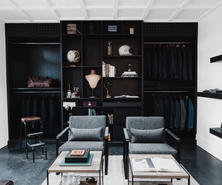Tailor & Co. showroom in Parramatta