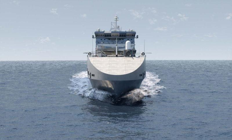 battleship front