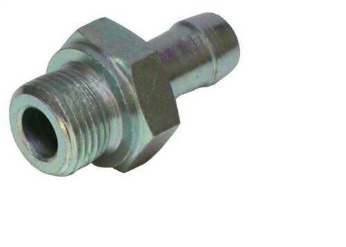 Schlauchnippel, Schlauchnippel mit Einschraubzapfen DIN 3852, Schlauchnippel DIN 3852, DIN 3852