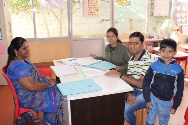 meeting the teachers
