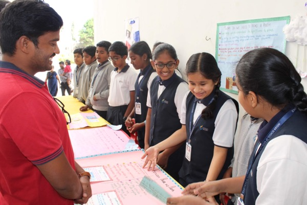 students demo what they have learnt.