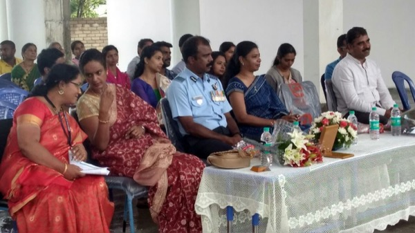 Attendees of the celebration seated.