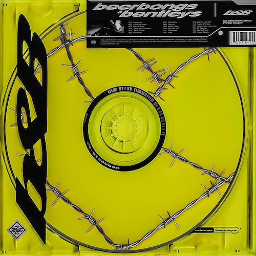 Post Malone Beerbongs & Bentleys album cover