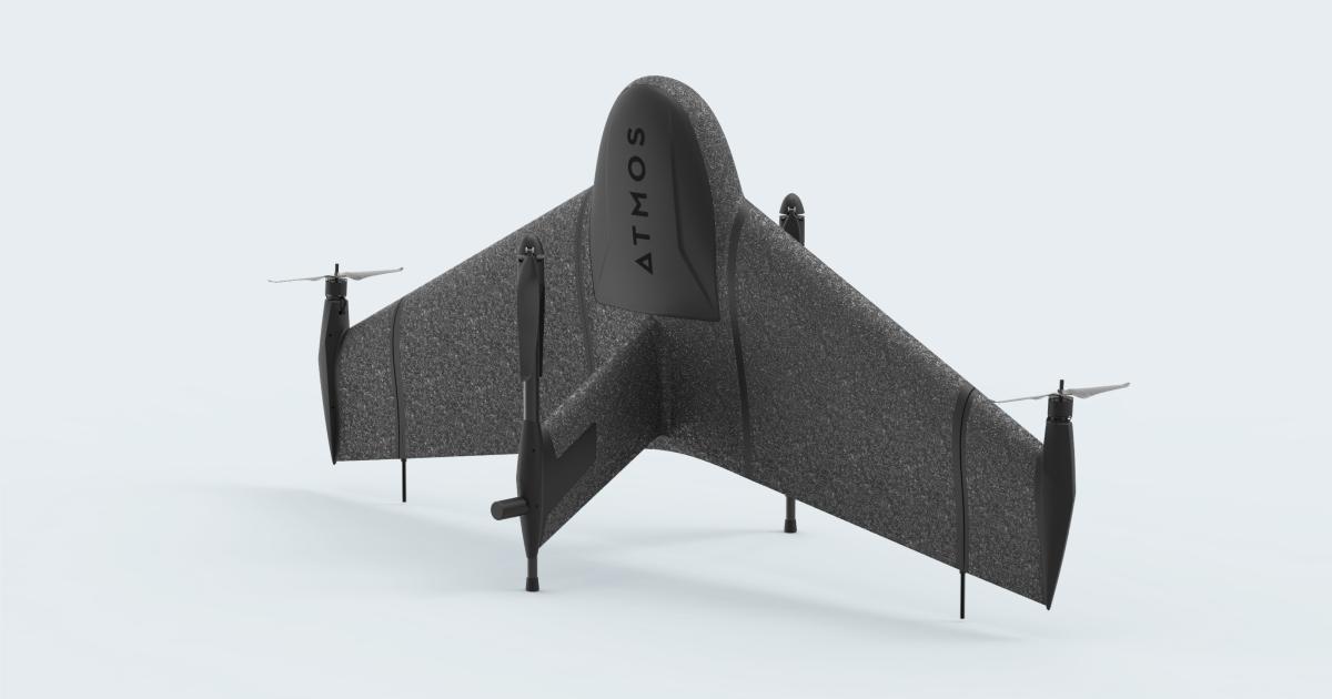 New Marlyn VTOL Mapping Drone