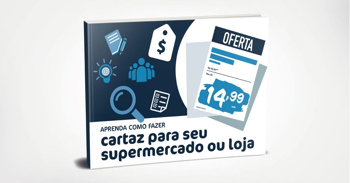 [Ebook] Como fazer cartaz para seu supermercado ou loja