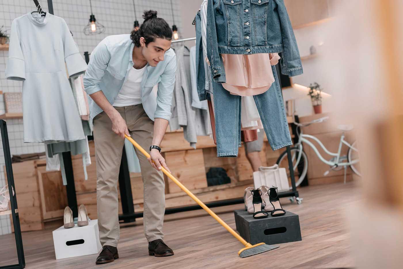 Como a limpeza da loja impacta na experiência do cliente?
