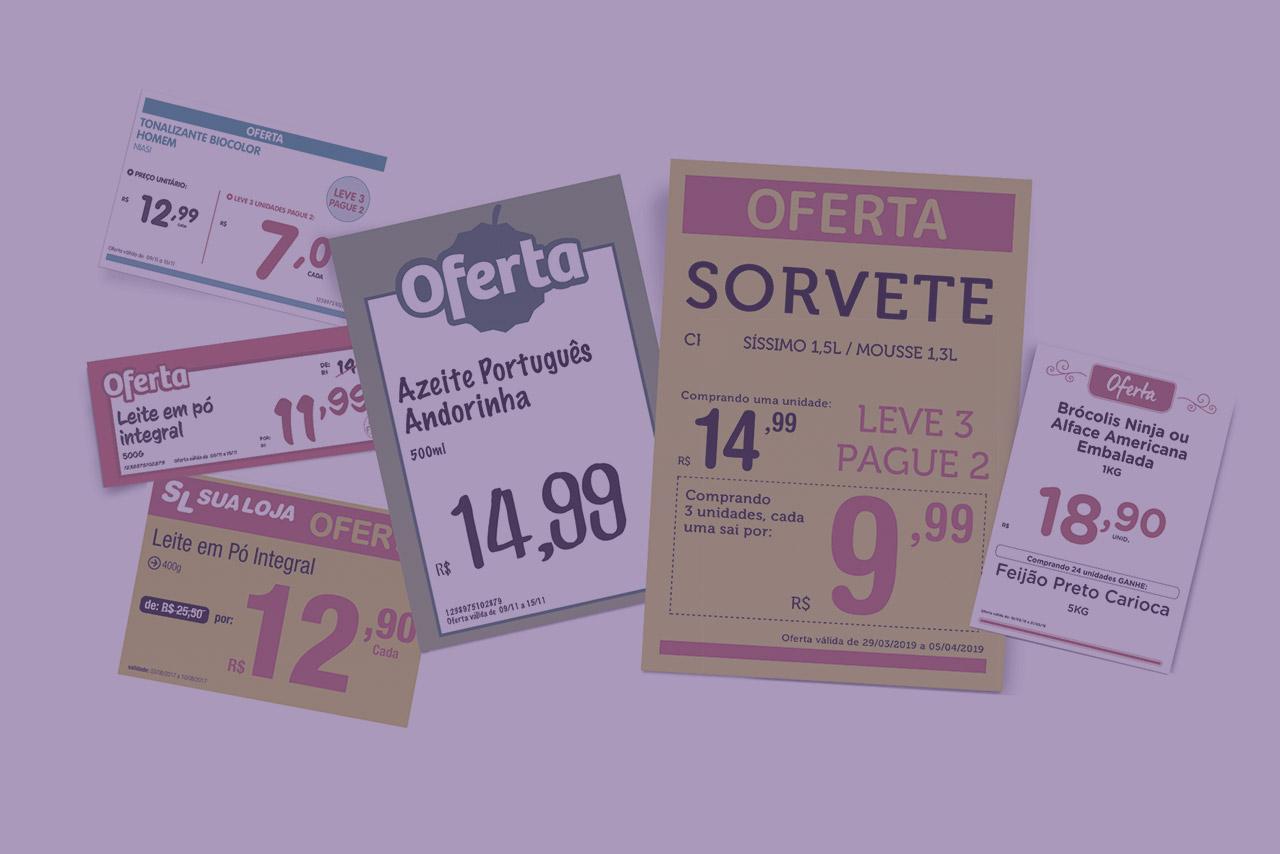 Como funcionam os programas para fazer cartaz online para seu supermercado?