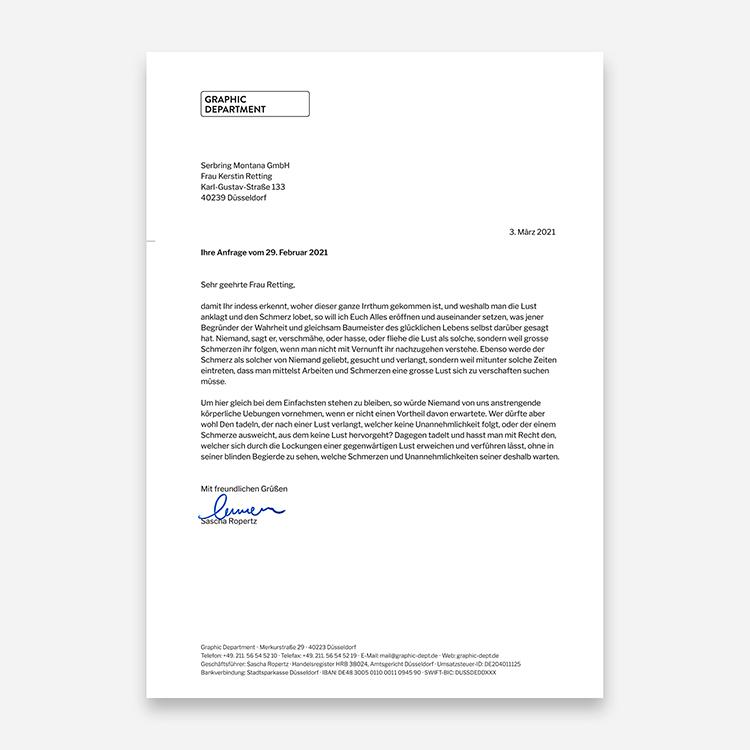 Briefpapier Gestalten Und Drucken Düsseldorf