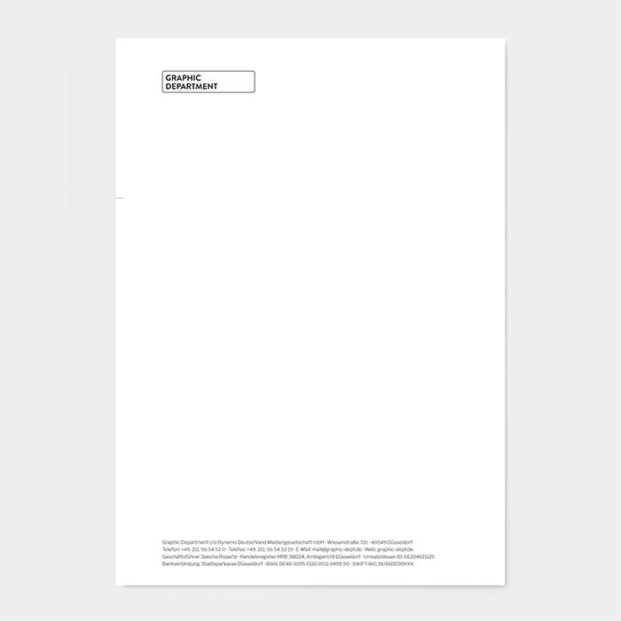 Briefpapier Grafikbüro