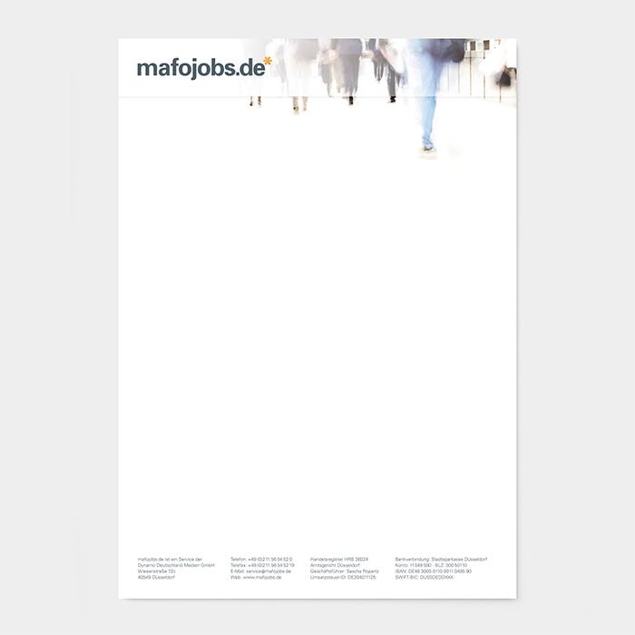 Briefpapier Marktforschung