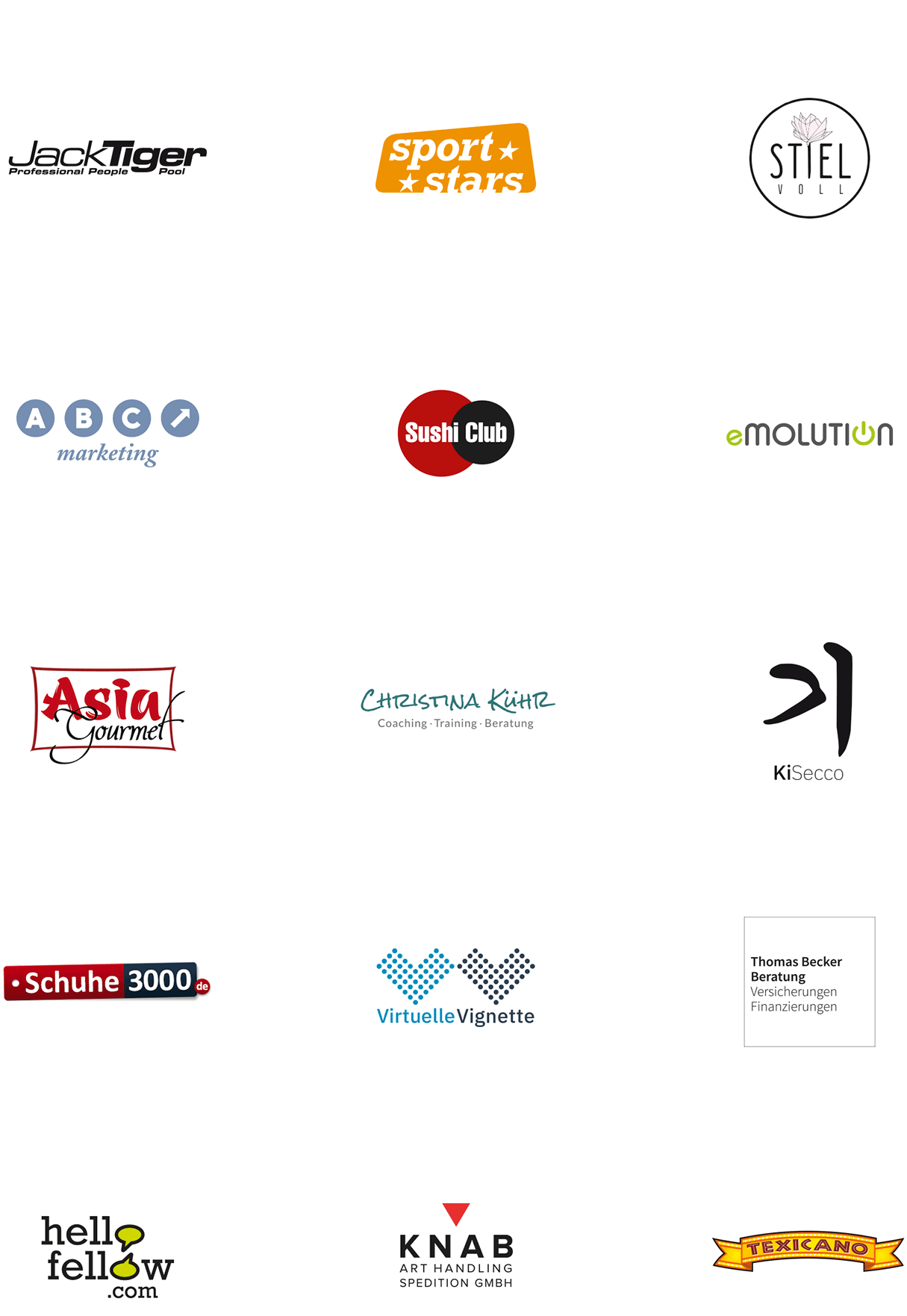 Logo-Design Beispiele