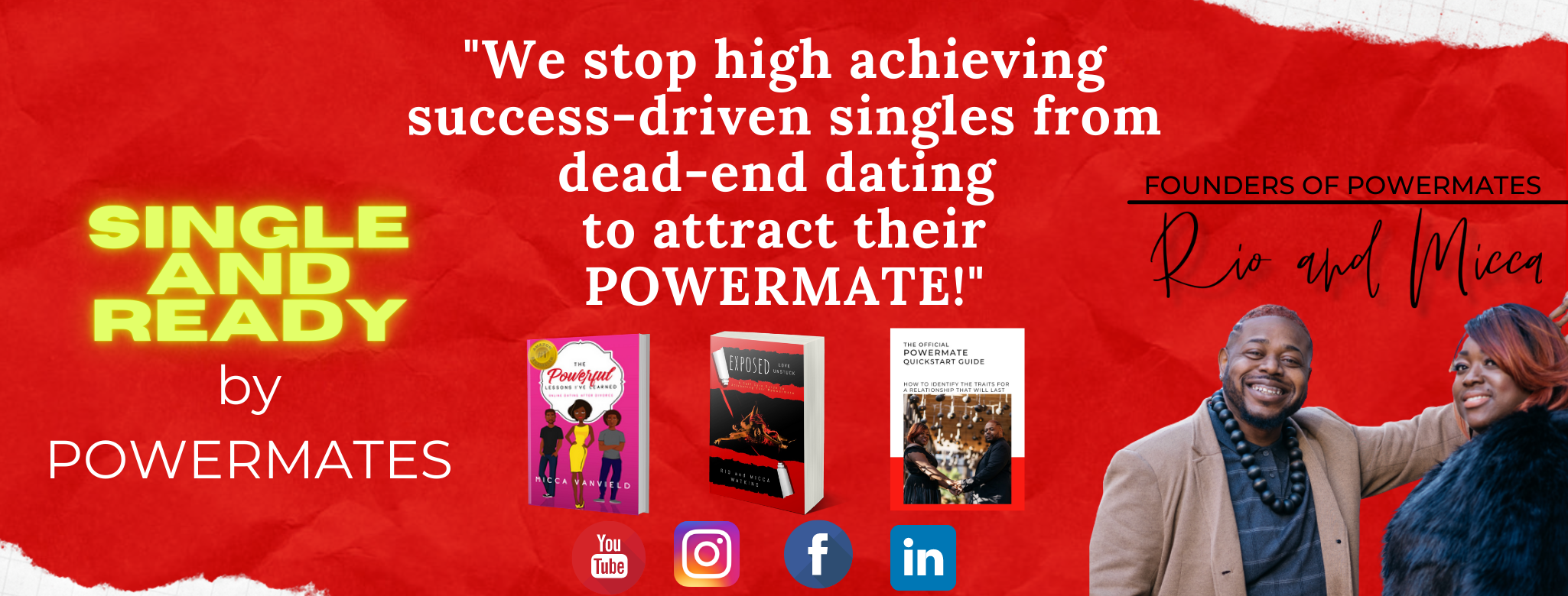 Image to join Single and Ready by Powermates group on Facebook