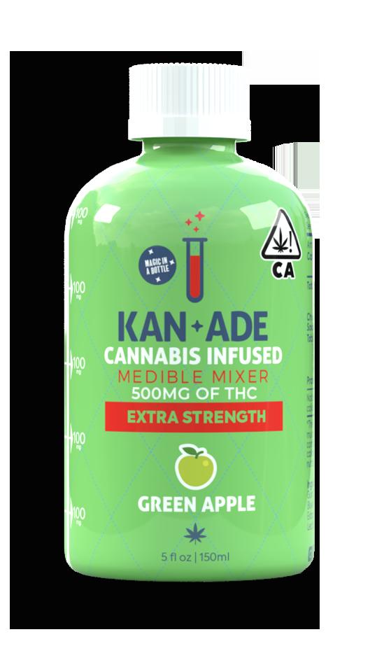 green apple bottle