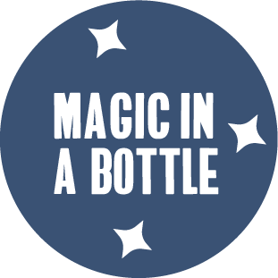 magic in a bottle sticker