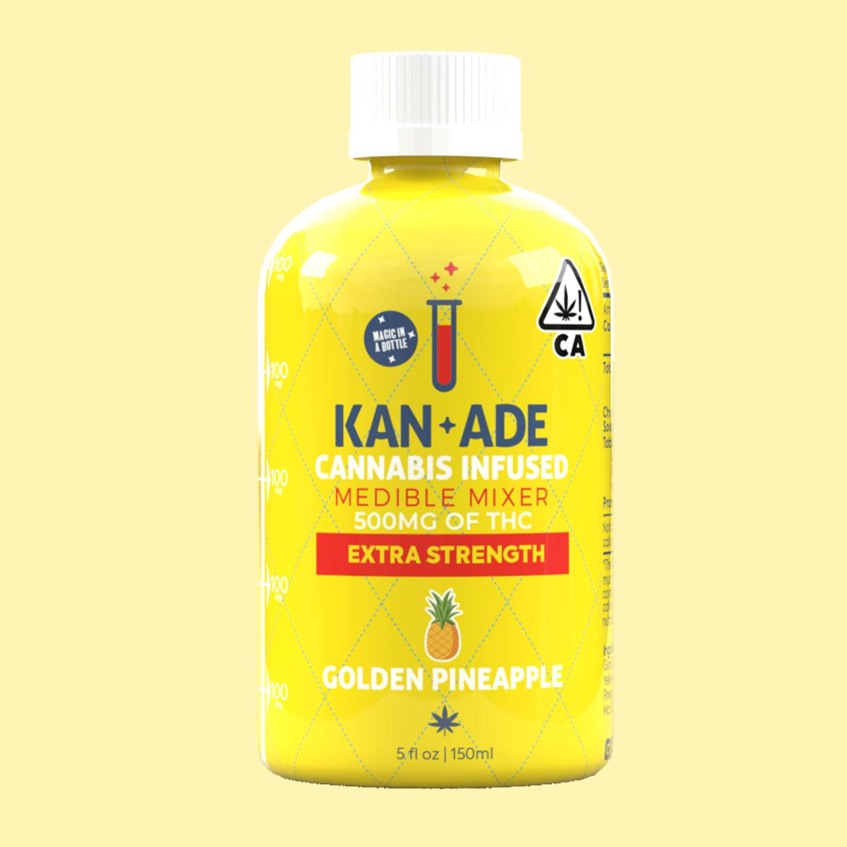 bottle 500 mg pineapple