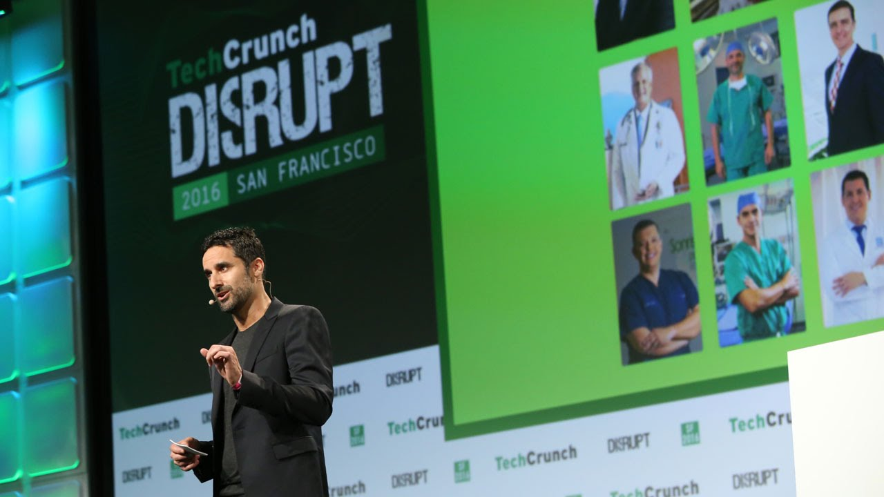 Founder, Robert Page, Presenting at TechCrunch
