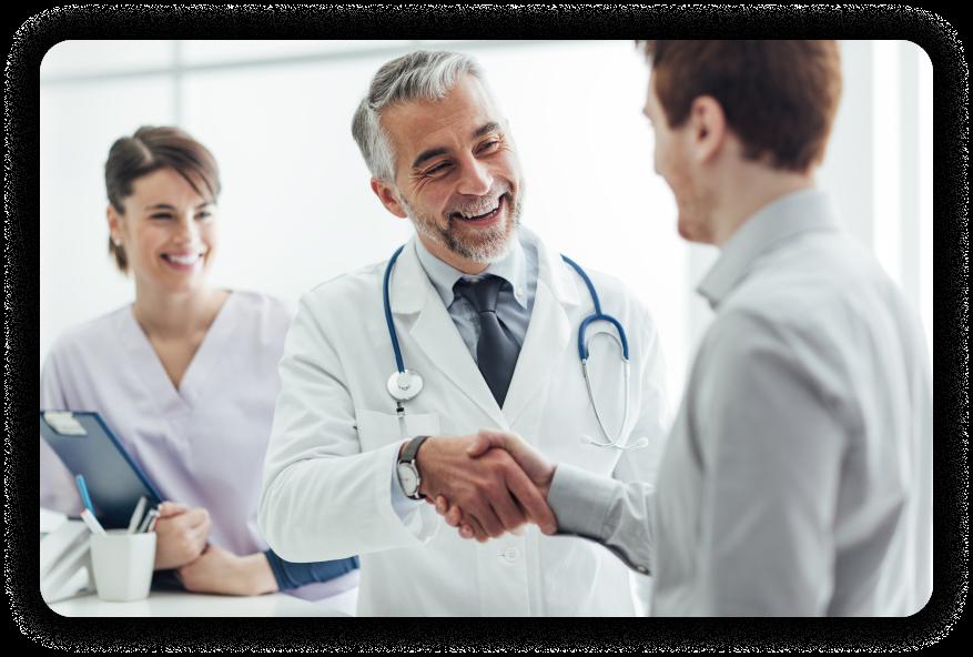 Doctor Meeting Patient Image