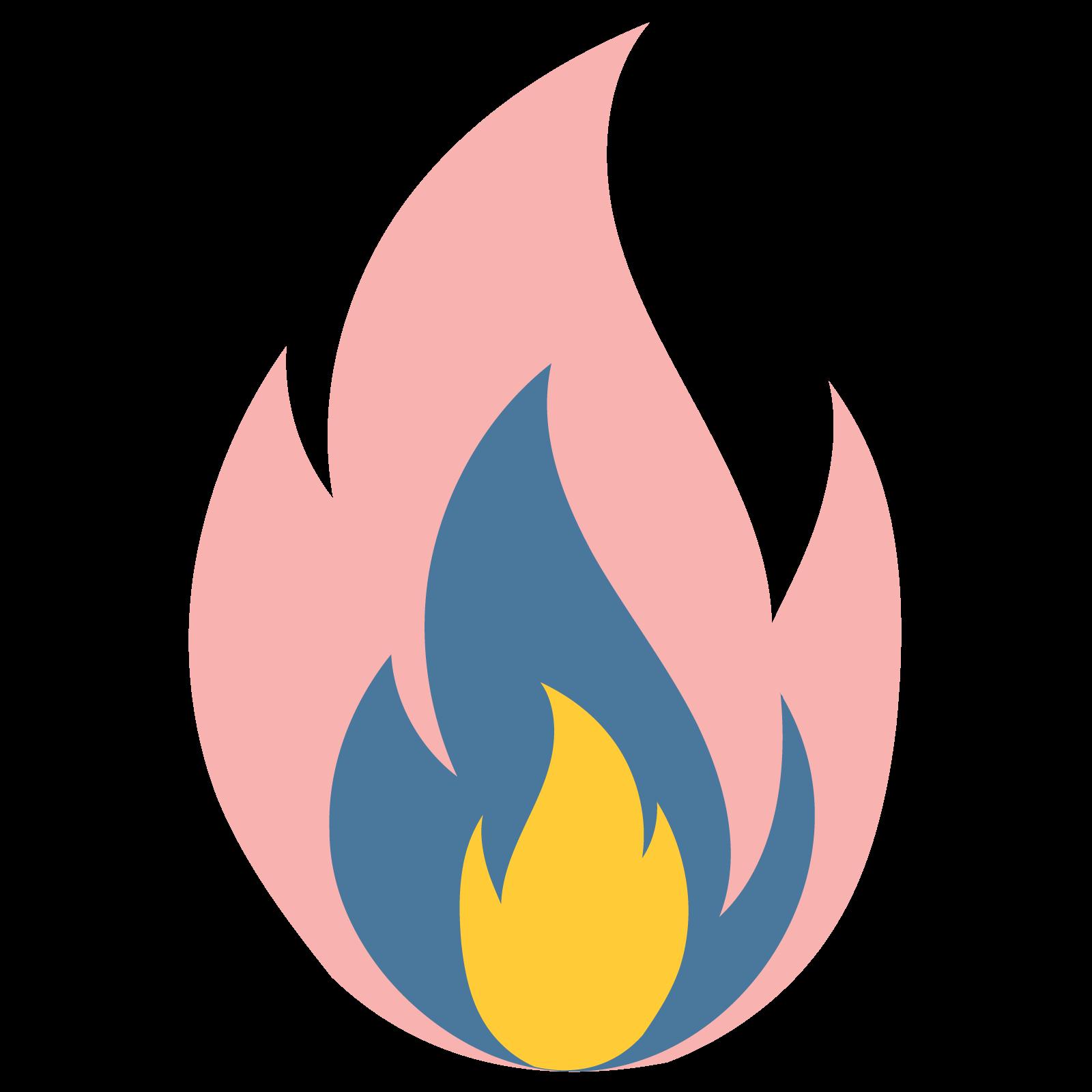 Blaze - A small fire being lit