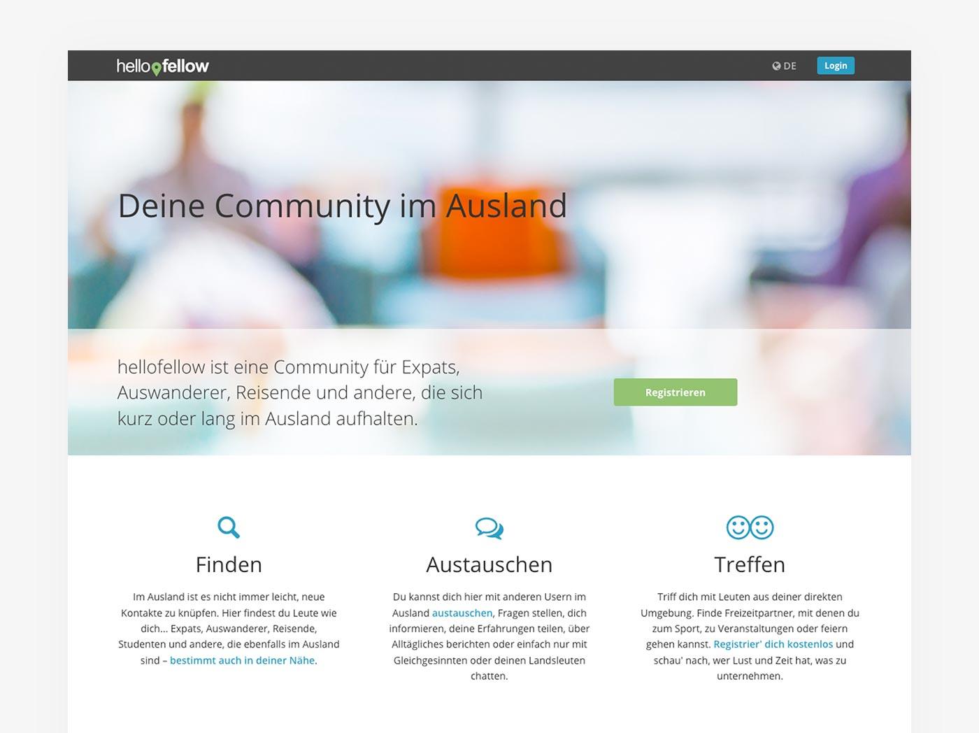 Social Community hellofellow.com