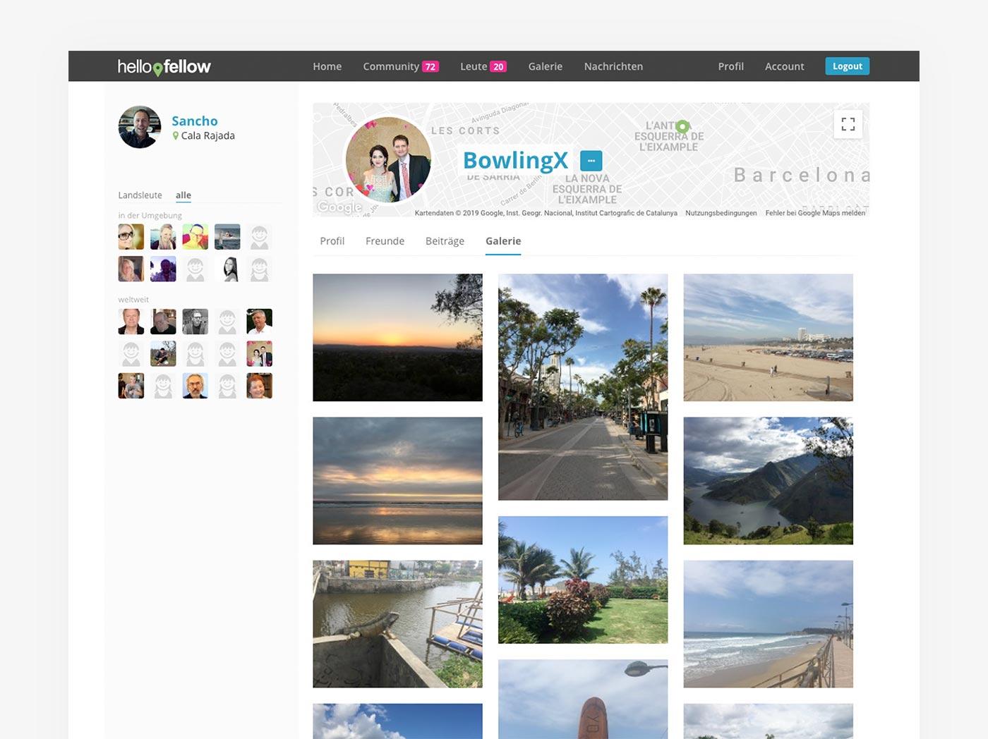 Profil Bildergalerie