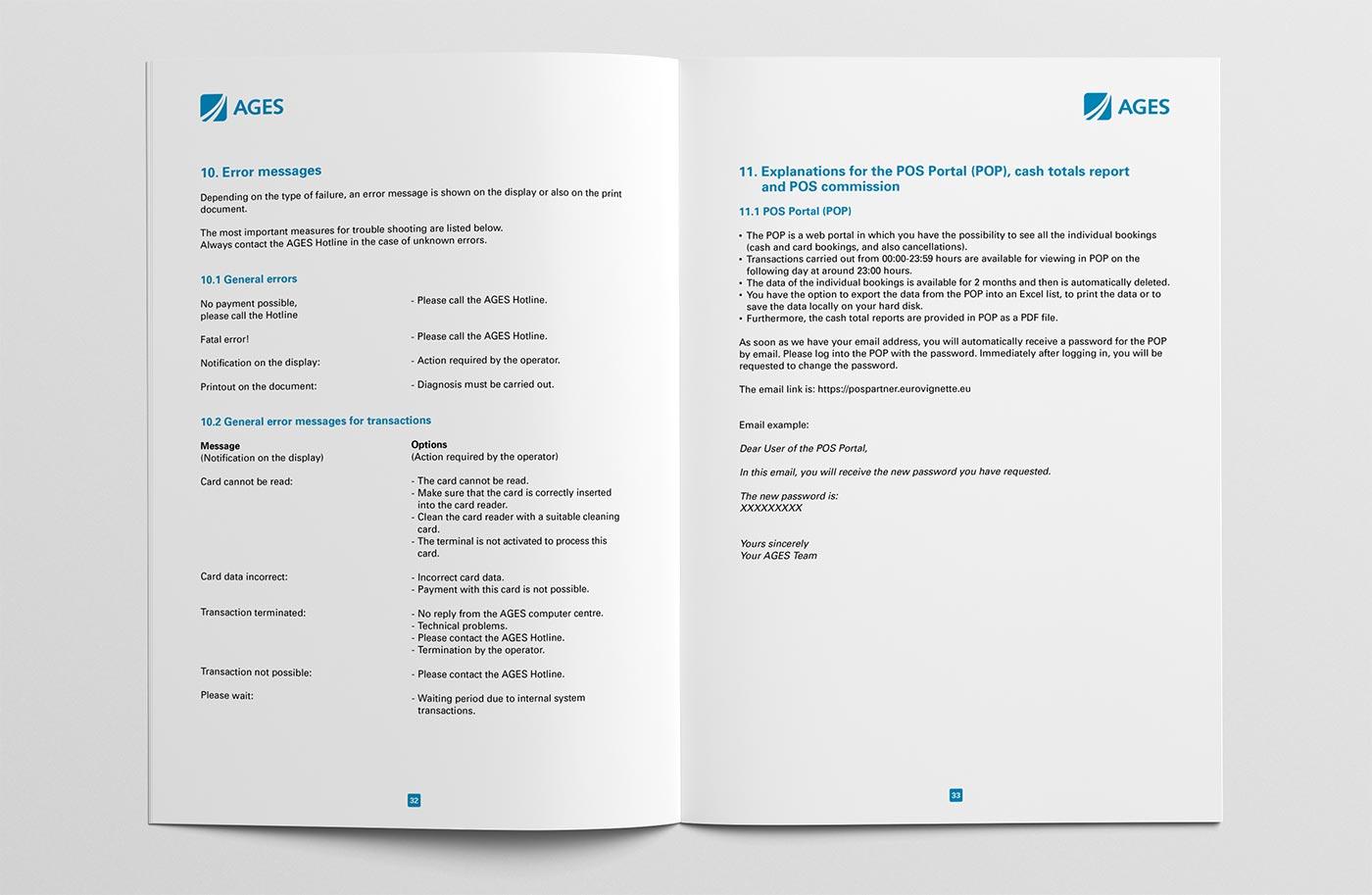 Bedienungsanleitung POS-Terminal Seiten 32/33