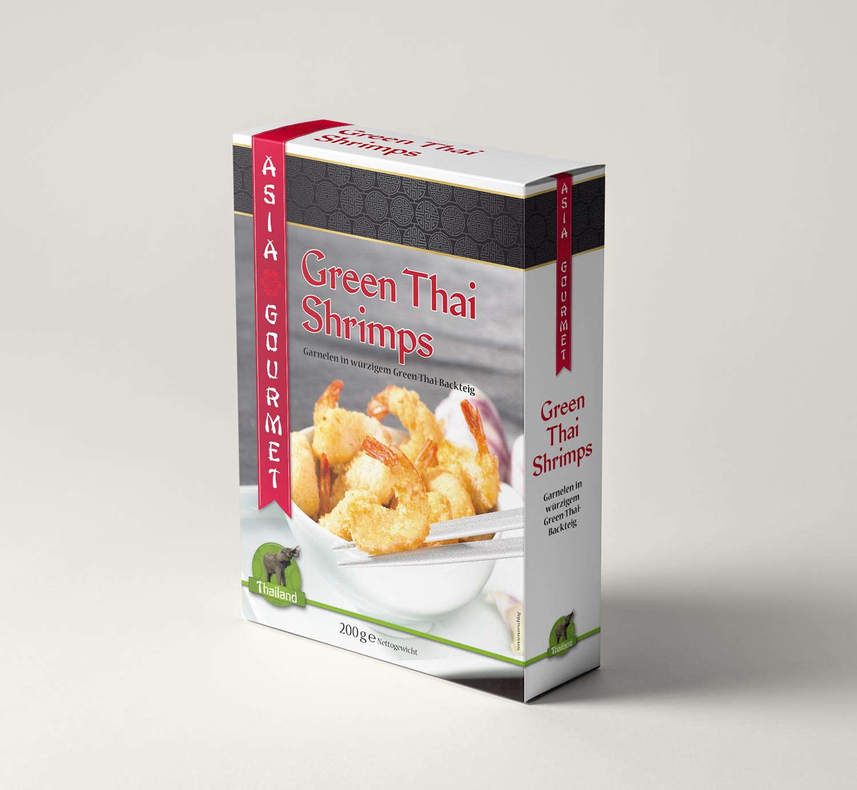 Verpackungsdesign Asia-Food