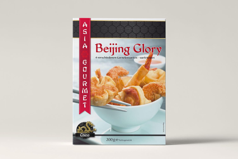 Verpackungsdesign Beijing Glory