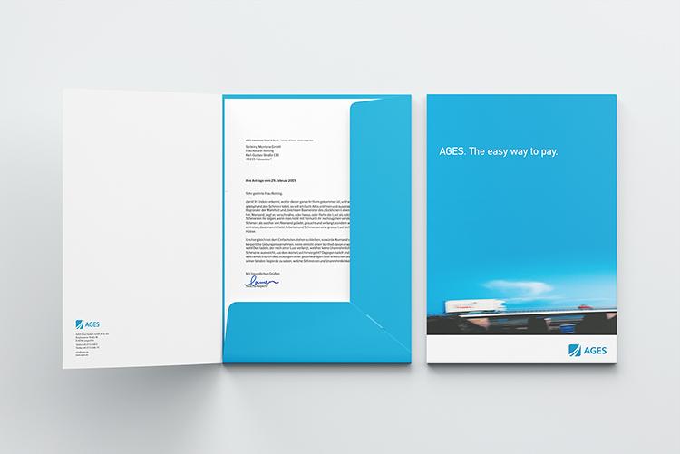 Pressemappe Design und Druck