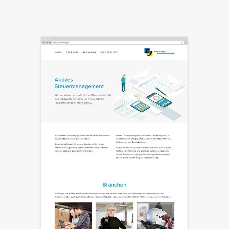 Webdesign Steuerberatung