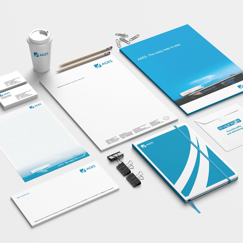Geschäftsausstattung AGES Maut System GmbH & Co. KG