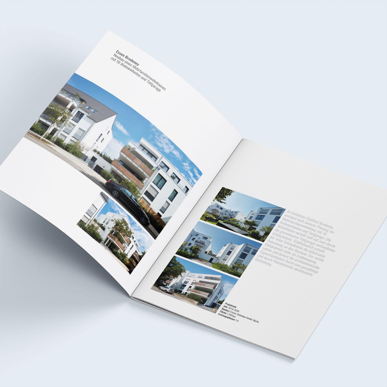 Design Imagebroschüre Architekturbüro