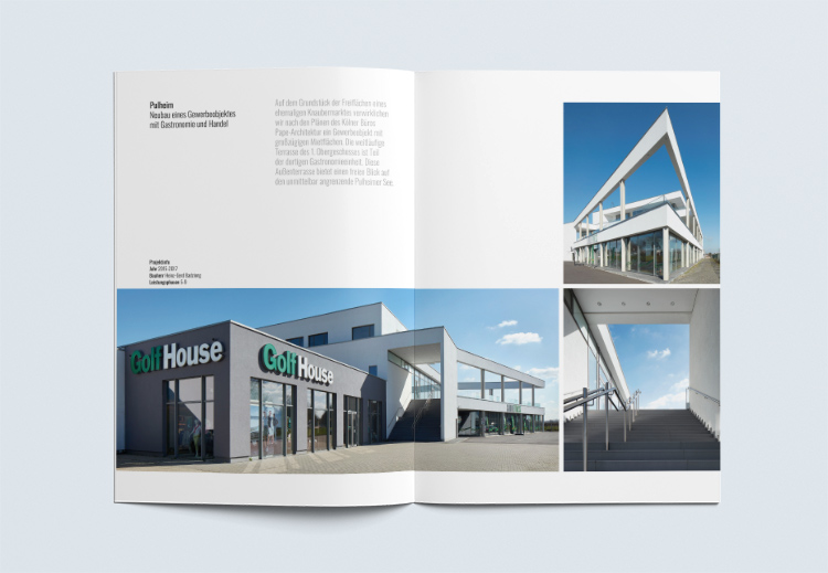 Imagebroschüre Architekturbüro