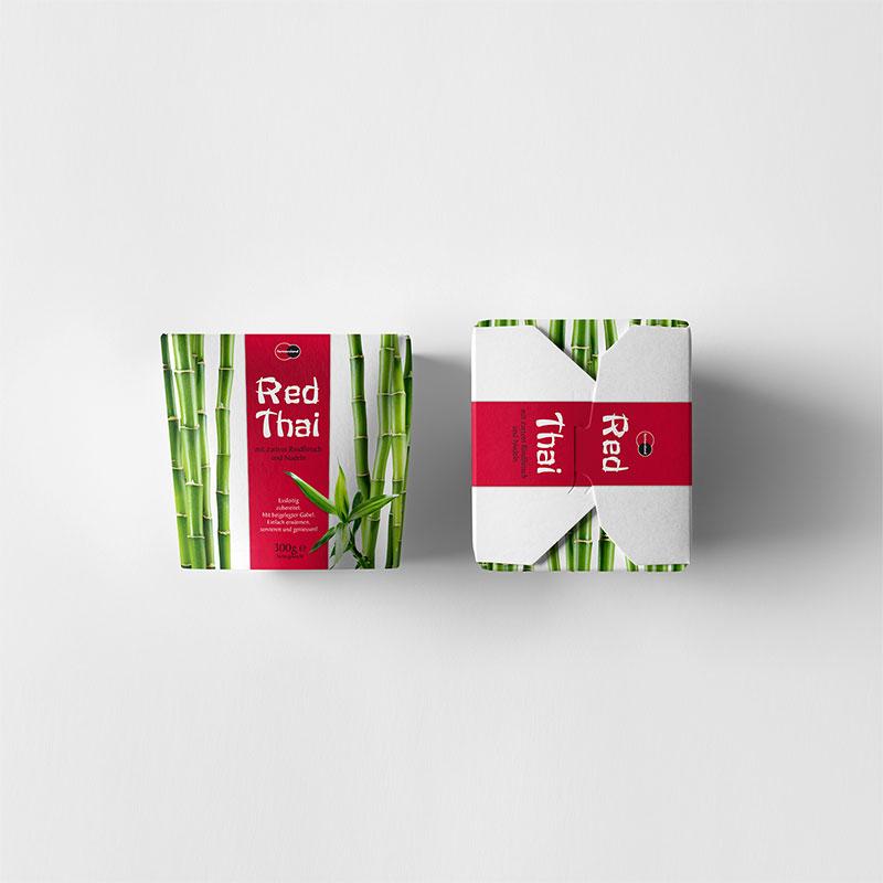 Package Design Asia Noodle Box