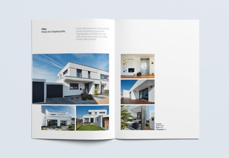 Unternehmensbroschüre Architekturbüro